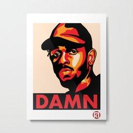 Kendrick Lamar Metal Print
