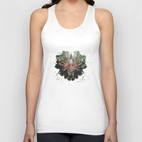 camouflage Tank Tops featuring CAMOUFLAGE by GEEKY CREATOR