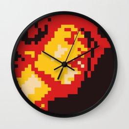 Jimi Experience minimal pixel Wall Clock