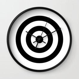 Classic Modern Bullseye Wall Clock