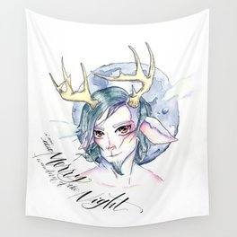 A Midsummer Night's Dream- Puck the Merry Wanderer of the Night Wall Tapestry