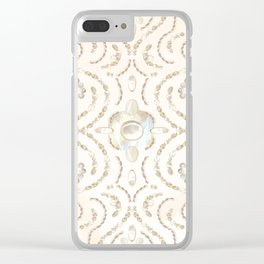 Moonstone Pattern Clear iPhone Case