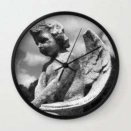 Angel of Rest Wall Clock