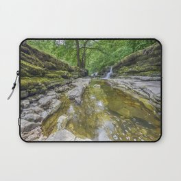 Four falls walk waterfall 2 Laptop Sleeve