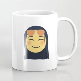 Nico Robin Emoji Design Coffee Mug