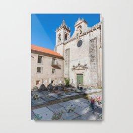 Monastery of San Esteban - Galicia, Spain Metal Print