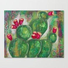 Prickly Pear Canvas Print