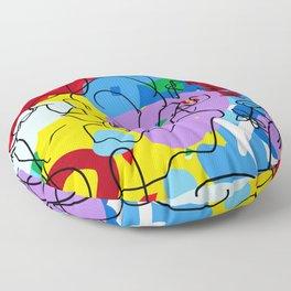 Flower Girl Floor Pillow