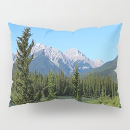 Along The Bow Valley Parkway Pillow Sham