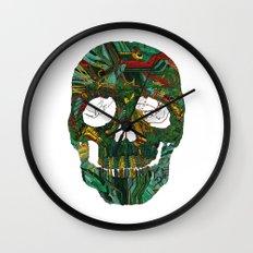 Skull No.7 Motherboard Wall Clock