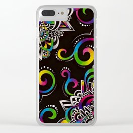 Doodle Magic Clear iPhone Case