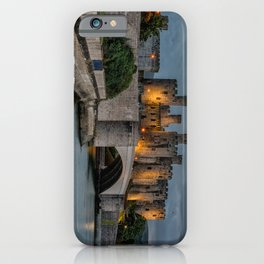 Conwy Castle by Lamplight iPhone Case
