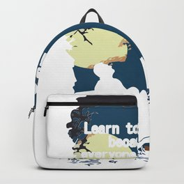 Learn to be Alone Backpack