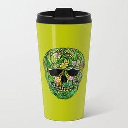 Skull Nature Metal Travel Mug