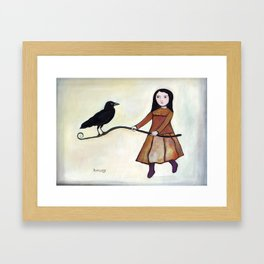 Counter Poise Framed Art Print
