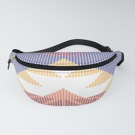 Knitted Piramid Fanny Pack