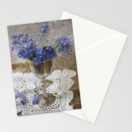 Forget-me-not flowers Stationery Cards