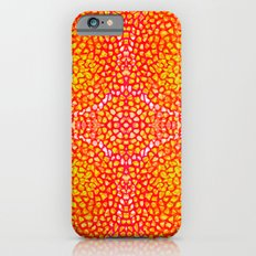 red coral structure Slim Case iPhone 6