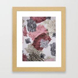 Carbonation Collection: pink Framed Art Print