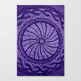Ultra Violet Stone Tiles 18-3838 Canvas Print