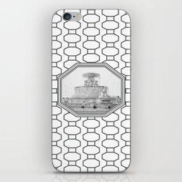 Scott Fountain_Belle Isle_Detroit, Michigan iPhone Skin