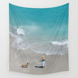 Morning on Clifton Beach Wall Tapestry