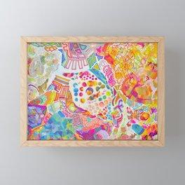 Intricacies. Framed Mini Art Print