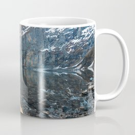 Glacier Mountain Landscape (Oeschinen Lake) Coffee Mug