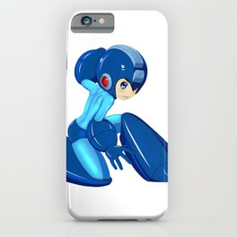 Megaman Cosplay: Buster Up! iPhone Case