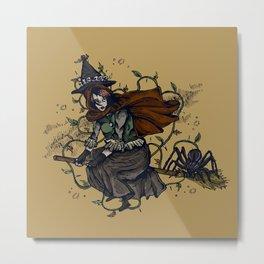 Broom Ride Metal Print