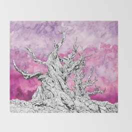 Yggdrasil Dawn Throw Blanket