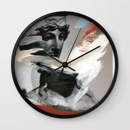 Untitled (Painted Composition 4) Wall Clock