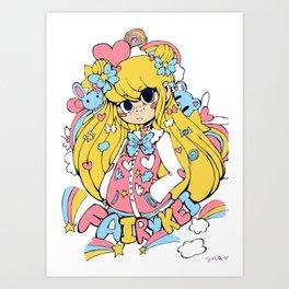 Fairy Kei Art Print