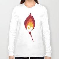 phoenix Long Sleeve T-shirts featuring Phoenix by Picomodi