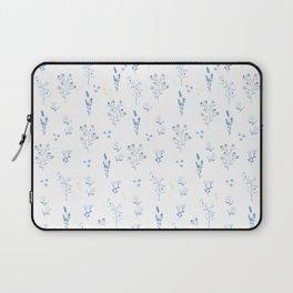 Small blue flowers Laptop Sleeve