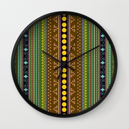 African texture Wall Clock