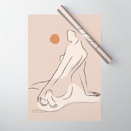 Nude 2 Wrapping Paper