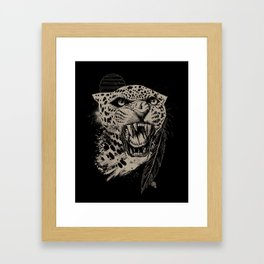 Jaguar Sun Framed Art Print
