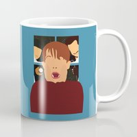 home alone Mugs featuring home alone by Live It Up