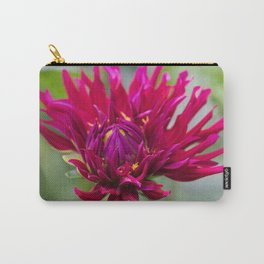 Unfurling Dahlia Carry-All Pouch