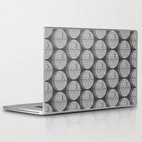 death star Laptop & iPad Skins featuring Star Wars Death Star by foreverwars