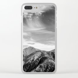 Mount Hutt Sky Clear iPhone Case