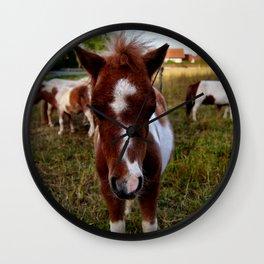 Ponys Wall Clock