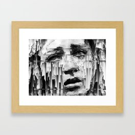 Falling Down by IRRELEVANT VISION™ Framed Art Print