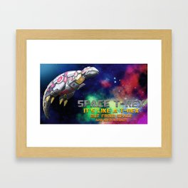 Space T-Rex  Framed Art Print