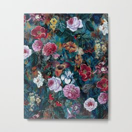 Dance of flowers Metal Print