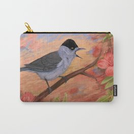 Blackcap in spring Carry-All Pouch