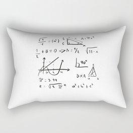 Math teacher gift for christmas Rectangular Pillow