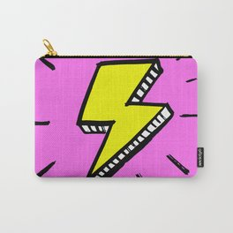 Lightning symbol ink illustration Carry-All Pouch