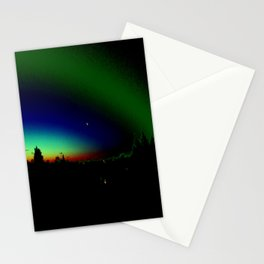 Night Time Aura Stationery Cards